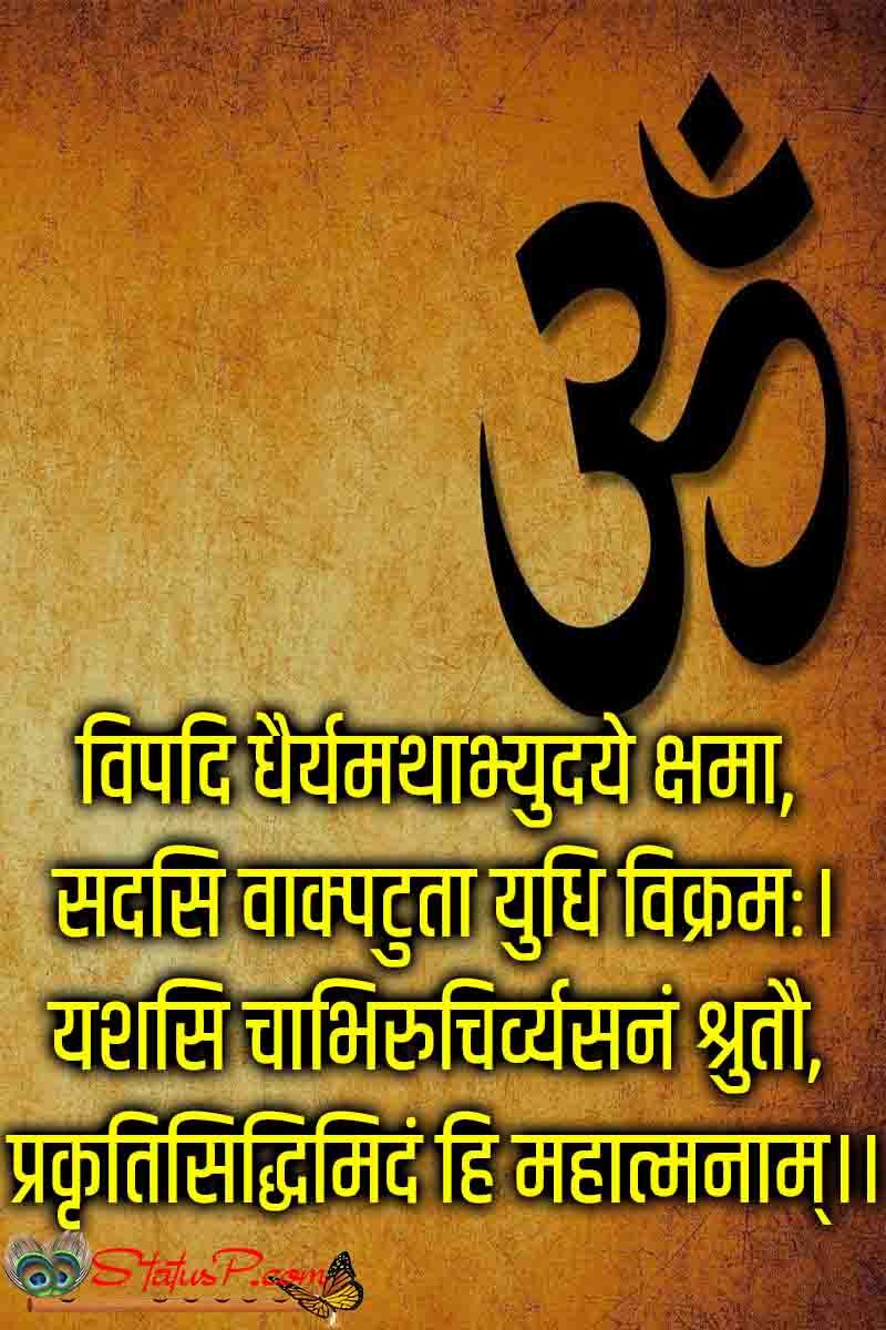 sanskrit shlok with meaning