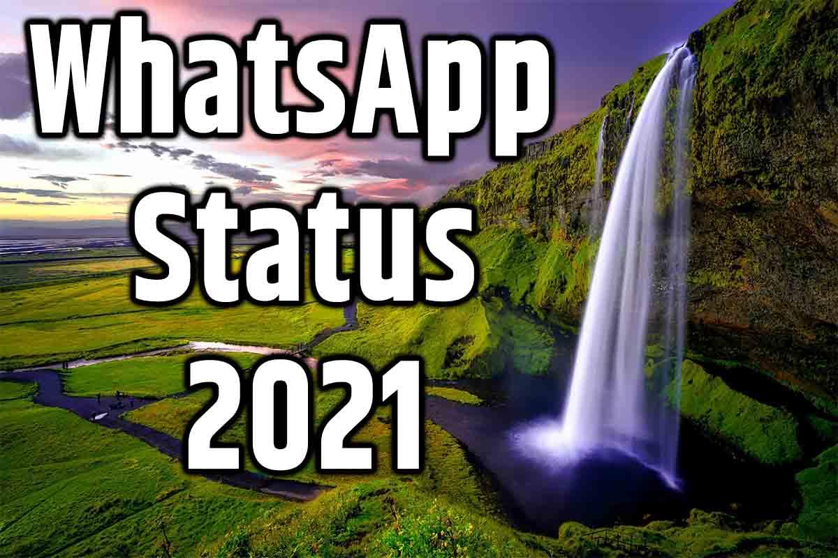 whatsapp status 2021