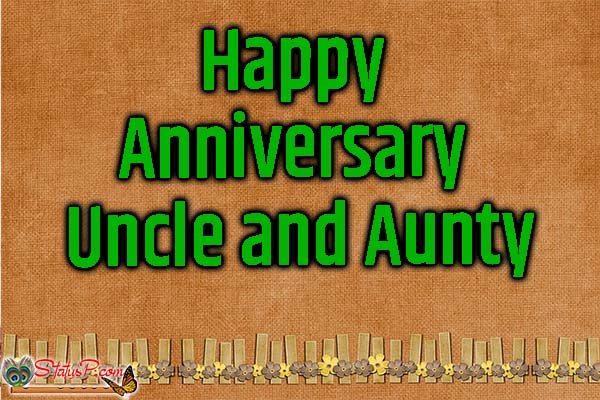happy anniversary uncle and aunty